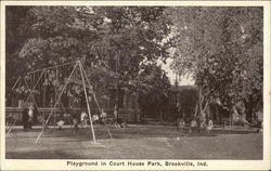 Playground in Court House Park