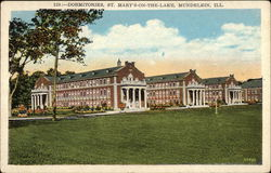 St. Mary's-on-the-Lake - Dormitories Postcard