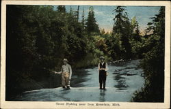Trout Fishing Near Iron Mountain
