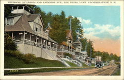 Veterans' Buildings and Lakeside Avenue, The Weirs