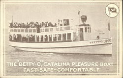 "The ""Betty-O,"" Catalina Pleasure Boat"