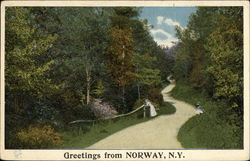 Greetings from Norway, NY