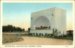 New Band Shell, Lake Front Park