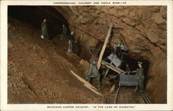 Underground, Calumet and Hecla Mine