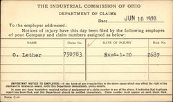 The Industrial Commission of Ohio