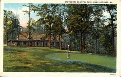Spotswood Country Club Postcard
