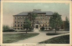 The Latin School Postcard