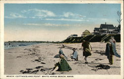 Beach, Cottages and Point