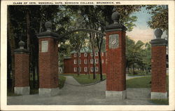 Bowdoin College - Class of 1878 Memorial Gate