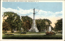 Soldiers' Monument and Goodwin Park