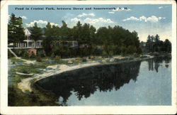 Pond in Central Park Between Dover and Somersworth