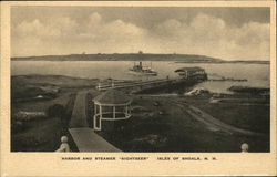 Harbor and Steamer Sightseer