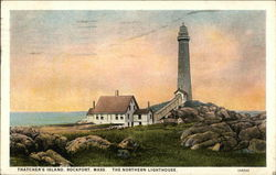 Thatcher's Island, The Northern Lighthouse