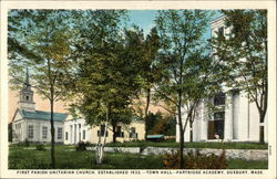 First Parish Unitarian Church Postcard