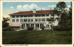 Powder Point Hall Postcard