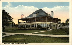 Norwood Press Club Postcard