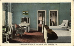 "A Bedroom in Suite ""C"" of The De Soto"