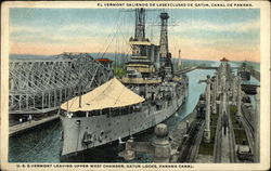 USS Vermont Leaving Upper West Chamber