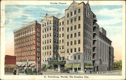 Florida Theatre Postcard