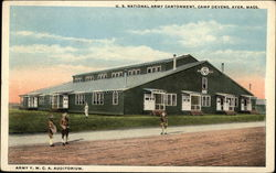 U.S. National Army Cantonment, Camp Devens - Army Y.M.C.A. Auditorium