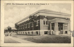 The Gymnasium and Y.M.C.A., Fort Totten