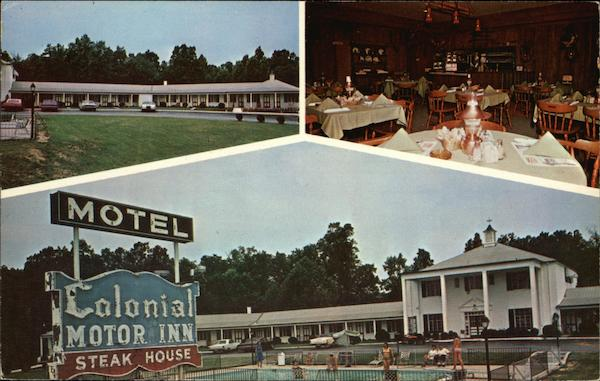 Colonial Motor Inn & Steak House Thomasville North Carolina
