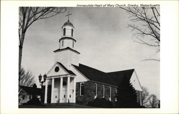 Immaculate Heart of Mary Church Granby Massachusetts