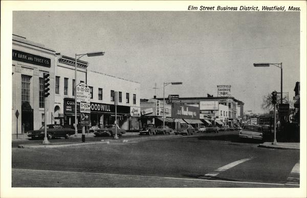 Elm Street Business District Westfield Massachusetts
