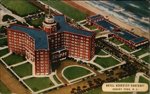 Aerial View Of Hotel Berkeley Carteret