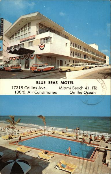 Blue Seas Motel, 17315 Collins Ave, Miami Beach 41, Florida