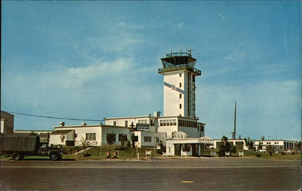 Base Operations Building And Tower Lockbourne Air Force