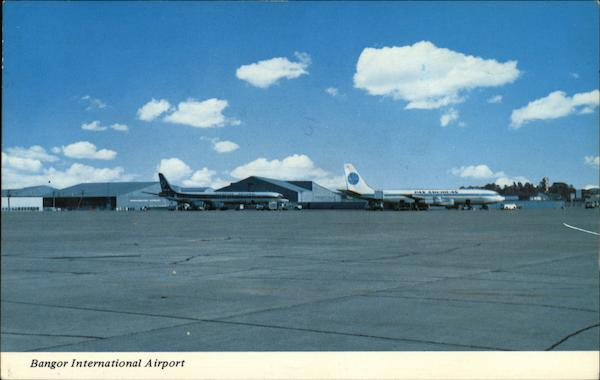 International Airport Bangor Maine Paul A. Knaut, Jr.