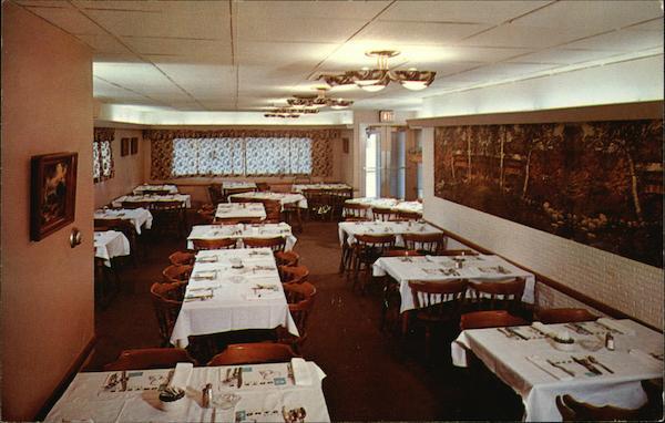 Cortese Restaurant Binghamton Ny Postcard