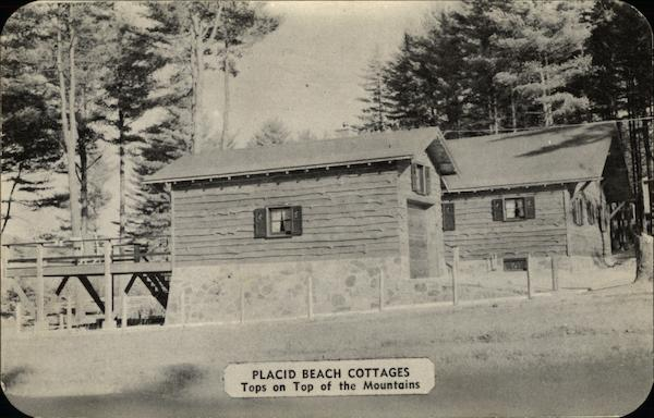 Placid Beach Cottages Lake Placid New York