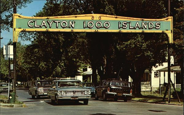 Clayton 1000 Islands - Welcome Arch New York
