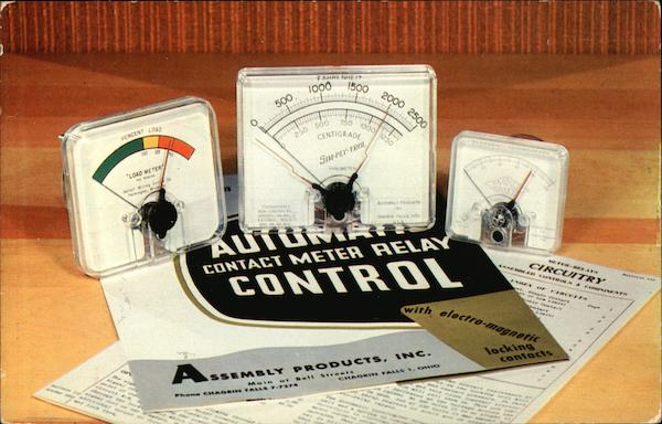 Contact Meter-Relays - Assembly Products, Inc. Advertising
