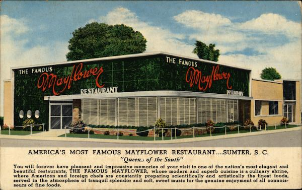 The Famous Mayflower Restaurant Sumter South Carolina
