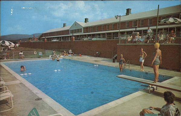 The Wayne Motor Lodge Waynesboro Va Postcard