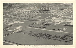 Aerial View of Fort Bragg, North Carolina