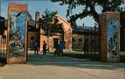 Entrance and Main Building at Zoo