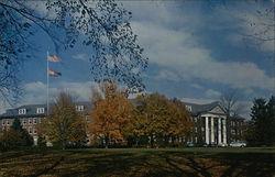 Looking Toward Penn Hall