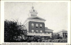 Tower of Administration Building - The Lutheran Home