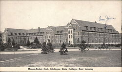 Mason-Abbott Hall, Michigan State College