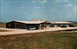 Dun-El View Motel Postcard