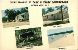 We're Staying at Lake & Shore Campground