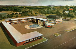 The Dunes Motor Inn Postcard