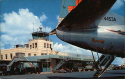 The Terminal Building at Imeson Airport