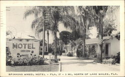 Spinning Wheel Motel Postcard