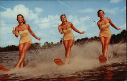 Water Skiing at Beautiful Cypress Gardens