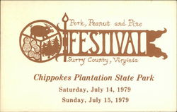 Pork, Peanut, and Pine Festival